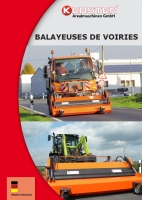 Brochure balayeuses
